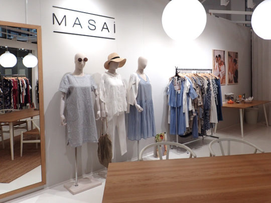 Masai Showroom 1A6 Fashion Center uutta