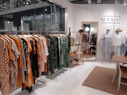 Masai showroom 1A6 Fashion Center