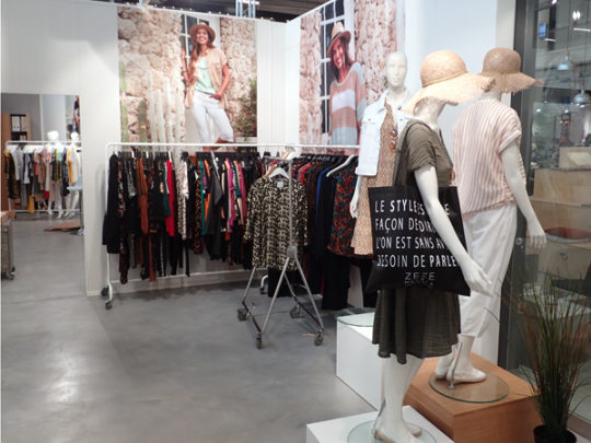 Zeze & Zhenzi showroom 1A8 Fashion Center